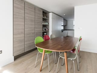Ifield Road, Kensington Ruang Makan Minimalis Oleh Grand Design London Ltd Minimalis