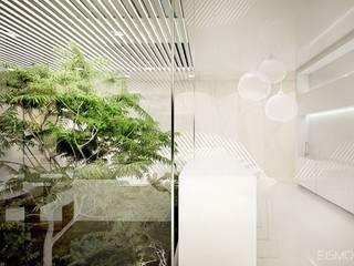 Ejsmont - pracowania architektoniczna Modern style balcony, porch & terrace