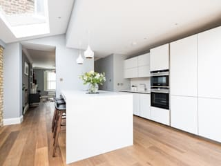 Oliphant Street, Queen's Park Cocinas de estilo moderno de Grand Design London Ltd Moderno