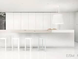 Comedores de estilo moderno de Ejsmont - pracowania architektoniczna Moderno