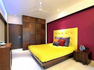 ATLAS APARTMENT:  Bedroom by Midas Dezign,Modern