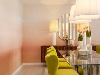 Sala de jantar. Interdesign: Salas de jantar  por Interdesign Interiores,Moderno