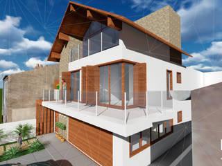 Ampliação de residência: Casas  por Natalia Rasia Arquitetura,Clássico