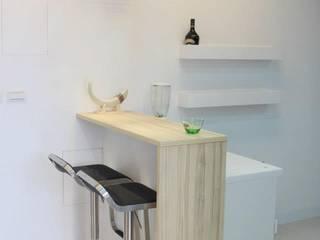 Skandinavische Küchen von 鹿敘空間設計 Skandinavisch