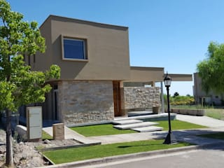 CASA DALVIAN M77 Casas minimalistas de MABEL ABASOLO ARQUITECTURA Minimalista