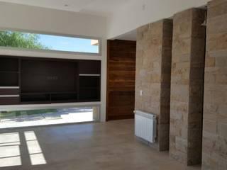 Livings de estilo minimalista de MABEL ABASOLO ARQUITECTURA Minimalista