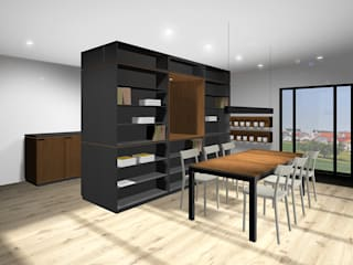 Küche SW 30 MDF schwarz :  Küche von SW  Retail+Interior Design,Modern