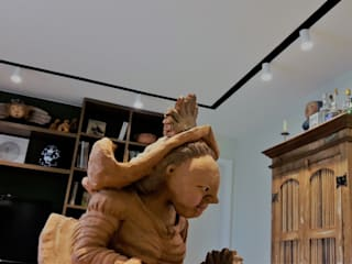 Salas de estar  por Lucio Nocito Arquitetura e Design de Interiores