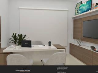 Clínica Odontológica: Escritórios  por Levolu Interiores e Arquitetura