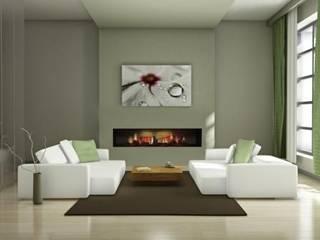 Einbaukamin E4500-OH de Luxe Moderne Wohnzimmer von Gebr. Garvens GmbH & Co. KG Modern