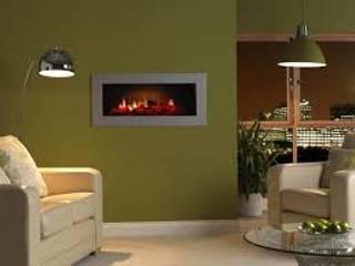Einbaukamin E4000-OH de Luxe Moderne Wohnzimmer von Gebr. Garvens GmbH & Co. KG Modern