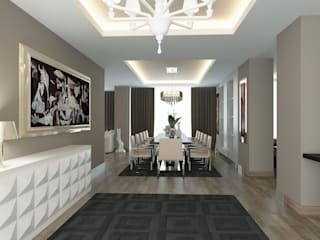 Gala Otel Modern Koridor, Hol & Merdivenler Erden Ekin Design Modern