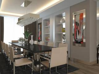 Gala Otel Modern Yemek Odası Erden Ekin Design Modern