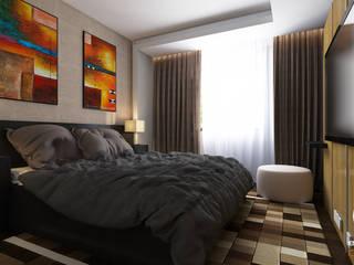 Erden Ekin Design – 4+1 Misafir Yatak Odası: modern tarz Yatak Odası