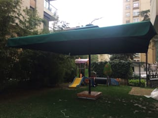 Akaydın şemsiye Schools Iron/Steel Green