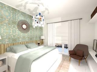 Camera da letto in stile  di Talita Kvian
