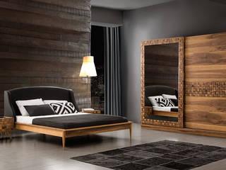 YILDIZ MOBİLYA – Class Ahşap Yatak Odası: modern tarz Yatak Odası