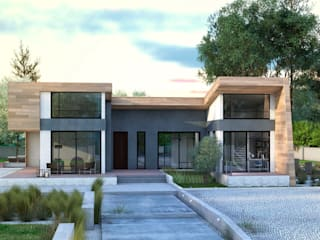 homify Modern houses Wood Multicolored