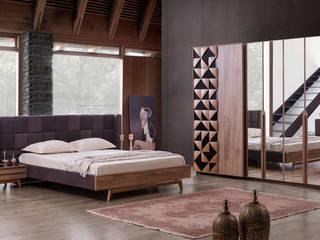 YILDIZ MOBİLYA – Alkım Yatak Odası: modern tarz Yatak Odası
