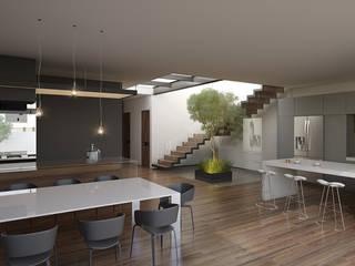 Cocinas de estilo minimalista de 21arquitectos Minimalista