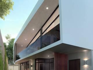 Casa Dr.16 # 16 Casas modernas de wearqs Moderno