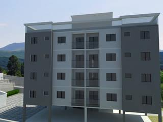 Prédio Residencial : Casas  por DR Projetos
