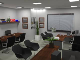 DR Projetos JM600: Escritórios  por DR Projetos