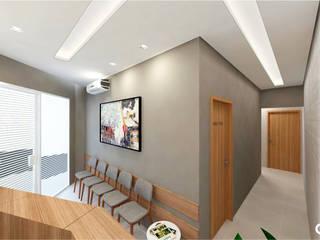 Consultório Odontológico Clínicas modernas por CTRL | arquitetura e design Moderno
