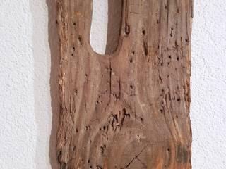 Treibholz - Wanduhr von nordic Art Ausgefallen