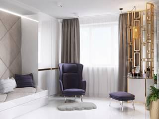 Dormitorios de estilo  de Katerina Butenko, Moderno