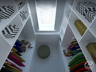 Modern dressing room by Progetti Architektura Modern
