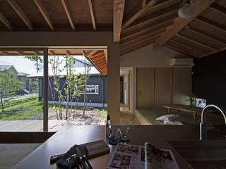 Moderner Garten von 岡本和樹建築設計事務所 Modern
