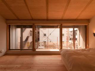 Scandinavian style bedroom by トラス・アーキテクト株式会社 Scandinavian