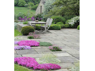 Terrace by Caroline Benedict Smith Garden Design Cheshire, Country