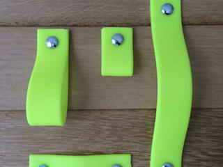 neon geel kastgreep:   door Neongreepjes
