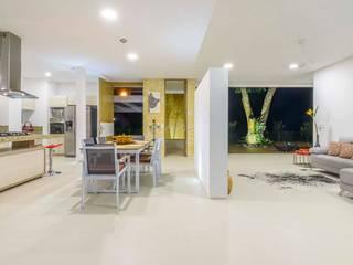 Casa de la Acacia Cocinas modernas de David Macias Arquitectura & Urbanismo Moderno