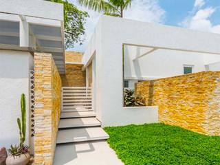 Couloir et hall d'entrée de style  par David Macias Arquitectura & Urbanismo