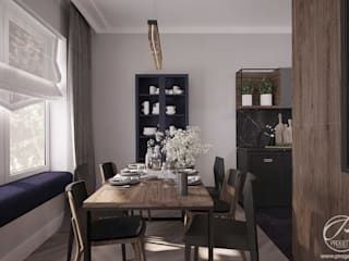 Dining room by Progetti Architektura