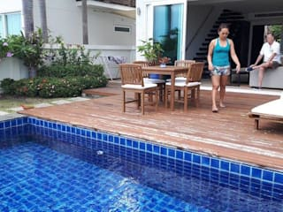 Pool Terrace ( Pine Wood):   by Phuket S.W. Construction Ltd., Part