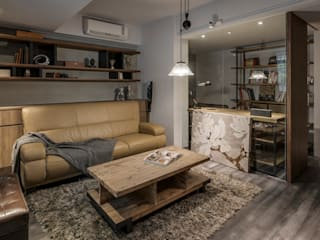 Eclectic style living room by 齊禾設計有限公司 Eclectic