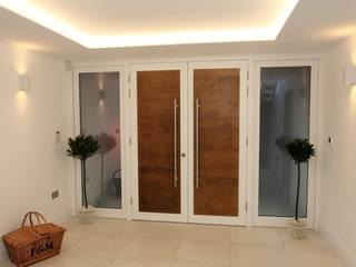 White Gates Modern windows & doors by Simplicity Timber Solutions Ltd Modern