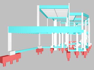 Santana do Parnaíba:   por DR Projetos Arquitetura e Engenharia ,Moderno