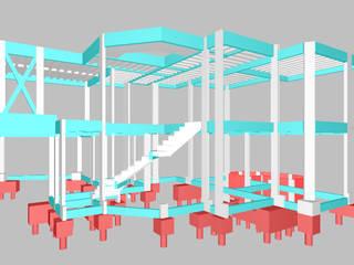 DR Projetos Arquitetura e Engenharia 의 현대 , 모던
