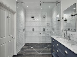 Double Shower Classic style bathroom by Adventure In Architecture Classic
