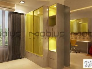 Rhythm Apartment Modern nursery/kids room by Mobius Architects Modern
