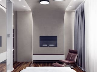 Modern Bedroom by Anastasia Yakovleva design studio Modern