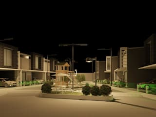Villa Los Andes Casas de estilo minimalista de Diseño Store Minimalista