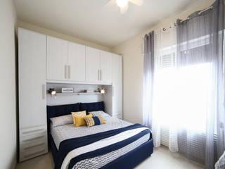 Civicocinquestudio Mediterranean style bedroom