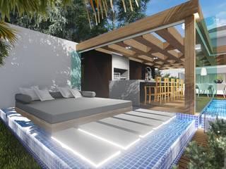 Spa Modern Oleh Adriane Cequinel Varella Arquitetura Modern