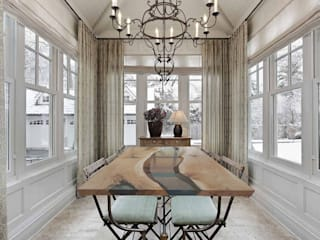 Modern dining room by ANTICO TRENTINO S.R.L. Modern
